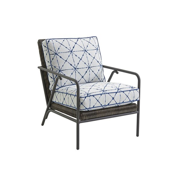 Cypress Point Ocean Terrace Patio Chair with Cushi