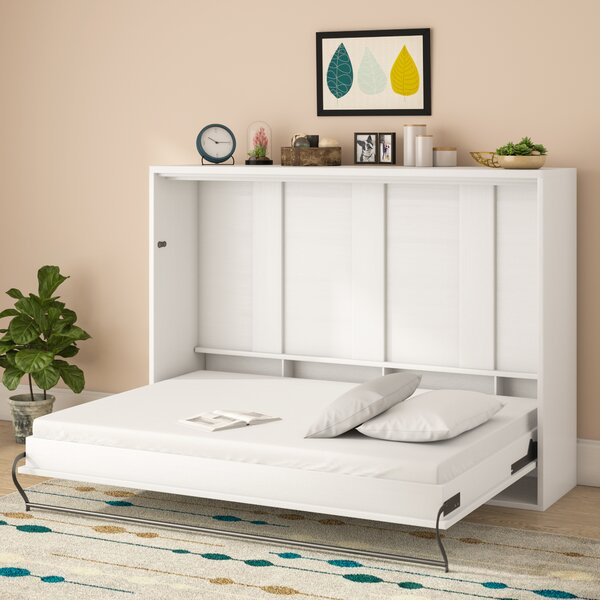 Clarksville Queen Murphy Bed with Mattress by Brayden Studio