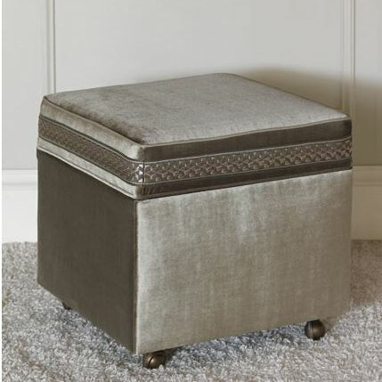 Ezra Cube Ottoman by Eastern Accents