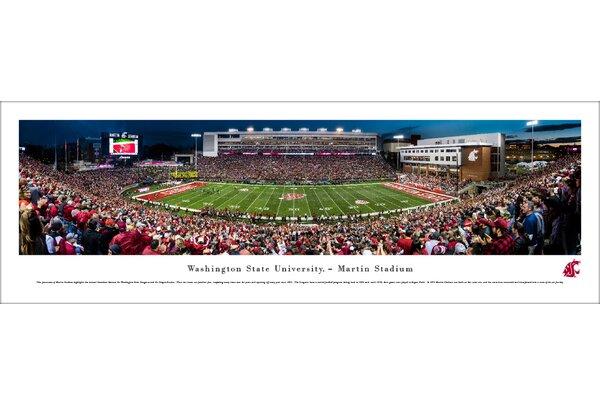 NCAA Washington State Football 50 Yard Line Photographic Print by Blakeway Worldwide Panoramas, Inc