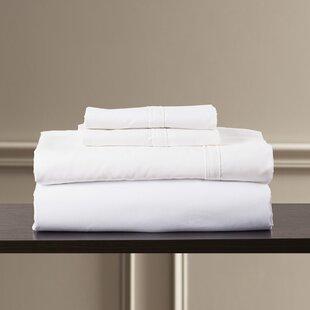 Shop Bridger 300 Thread Count 100% Egyptian Quality Cotton Sheet Set ByEider & Ivory