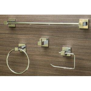 4 Piece Bathroom Hardware Set