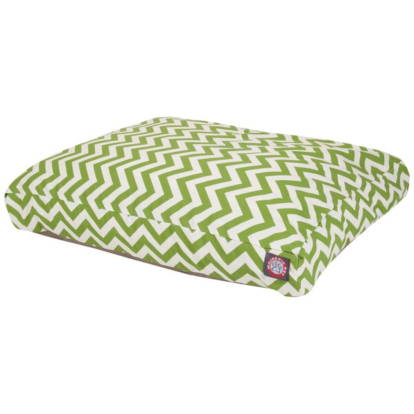 Zig Zag Pillow Pet Bed by Majestic Pet Products