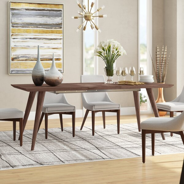 Drye Solid Wood Dining Table by Corrigan Studio