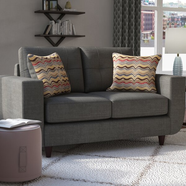 Scurlock Loveseat by Simmons Upholstery by Brayden Studio