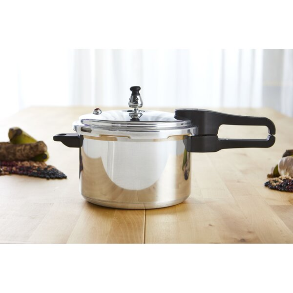 4.4 Qt. Aluminum Stovetop Pressure Cooker by IMUSA