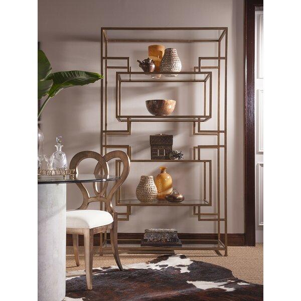Metal Designs Geometric Bookcase By Artistica Home