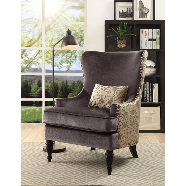 Deming Wingback Chair by Darby Home Co
