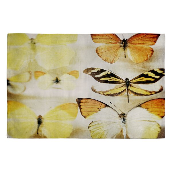 Chelsea Ivory Victoria Sherbert Dreams Area Rug by Deny Designs