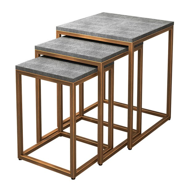 Gladney 3 Piece Nesting Tables By Everly Quinn