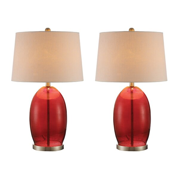 Priston 27 Table Lamp (Set of 2) by Charlton Home