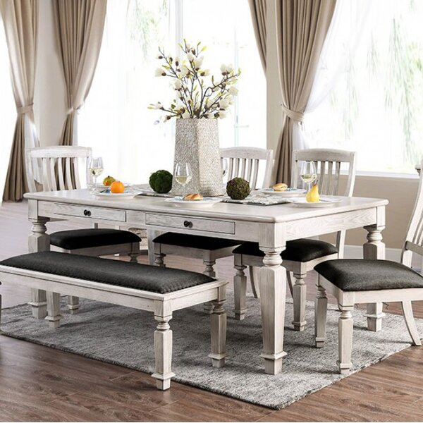 Harriet Dining Table by Gracie Oaks