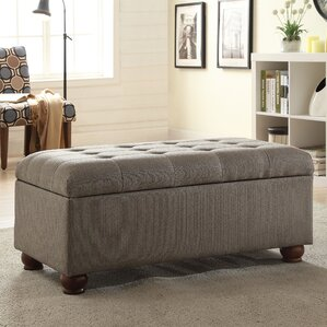 Oakbrook Upholstered Storage Bench by Alcott Hill