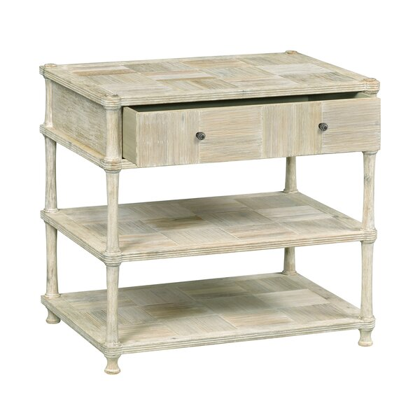 Bobbin 1 Drawer Accent Chest by Jonathan Charles Fine Furniture