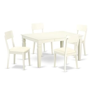 Belcourt 5 Piece Solid Wood Dining Set By Darby Home Co