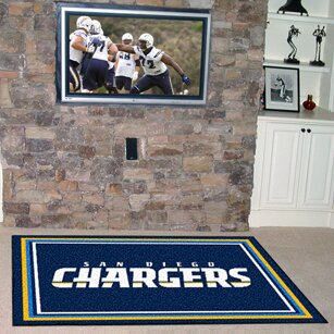 NFL - San Diego Chargers 4x6 Rug by FANMATS