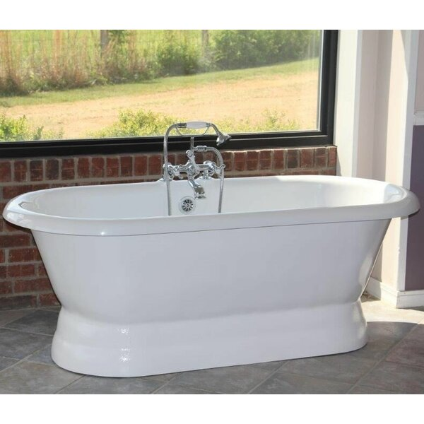 Majesty 66 x 30 Freestanding Bathtub by Restoria Bathtub Company