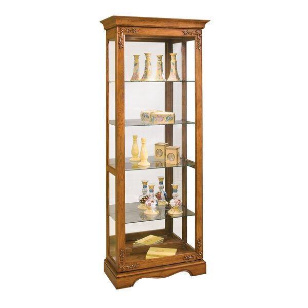 Andante II Lighted Curio Cabinet by Philip Reinisch Co.