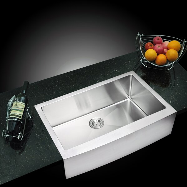 Arlon Single Bowl Kitchen Sink by dCOR design