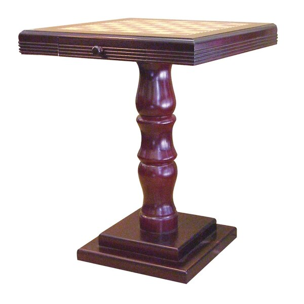 Pedestal Base Chess Table by ORE Furniture