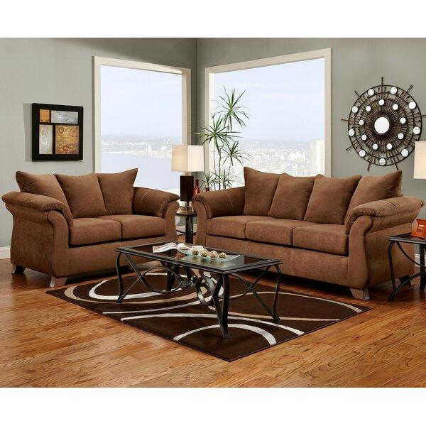 Carter 2 Piece Living Room Set by Wildon Home ®