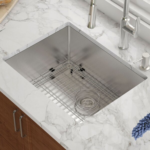 23 L x 18 W Undermount Kitchen Sink by Kraus