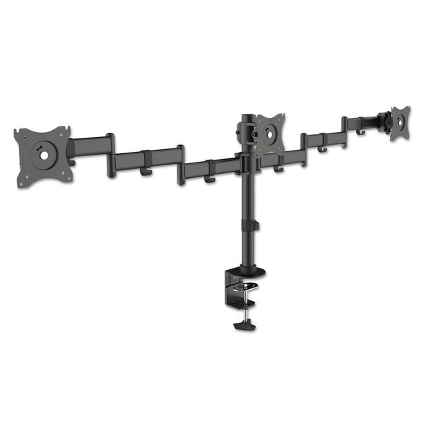 Monitor Arms Height Adjustable 3 Screen Desk Mount by Kantek