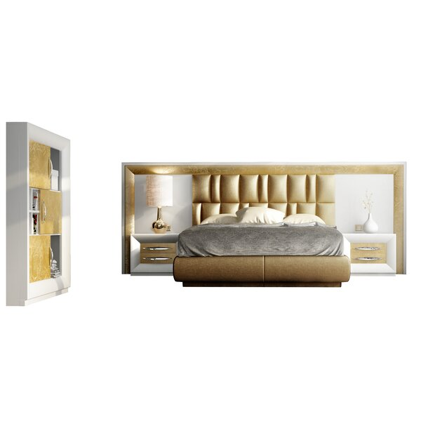 Jerri Standard 3 Piece Bedroom Set by Everly Quinn