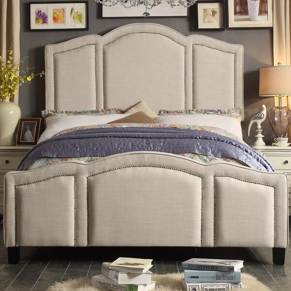 Niagara Queen Upholstered Panel Bed by Darby Home Co