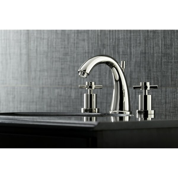 Concord Widespread Bathroom Faucet with Drain Assembly