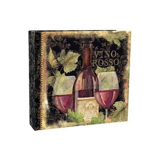 Greeting card keepsake album wayfair gilded wine recipe card album m4hsunfo