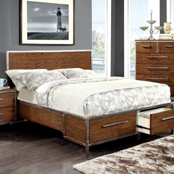 Willard Storage Platform Bed by Trent Austin Design