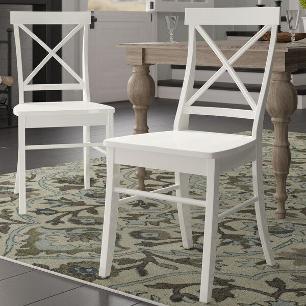 Melbourne Shores Solid Wood Dining Chair by Beachcrest Home