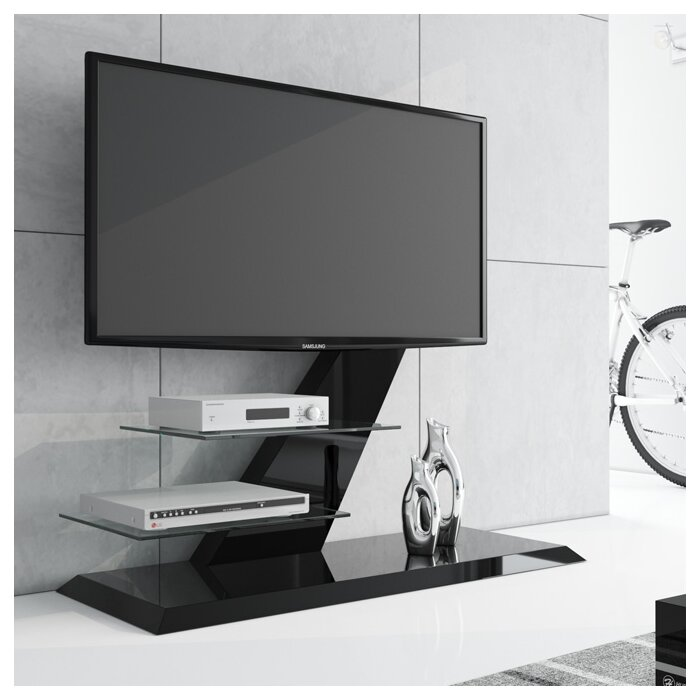 Malott High Gloss Floor Stand Mount For Tvs Up To 55