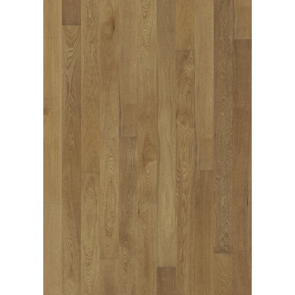 Canvas 5 Engineered Oak Hardwood Flooring in Suede by Kahrs