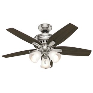 Great Price 42 Newsome 5-Blade Ceiling Fan By Hunter Fan