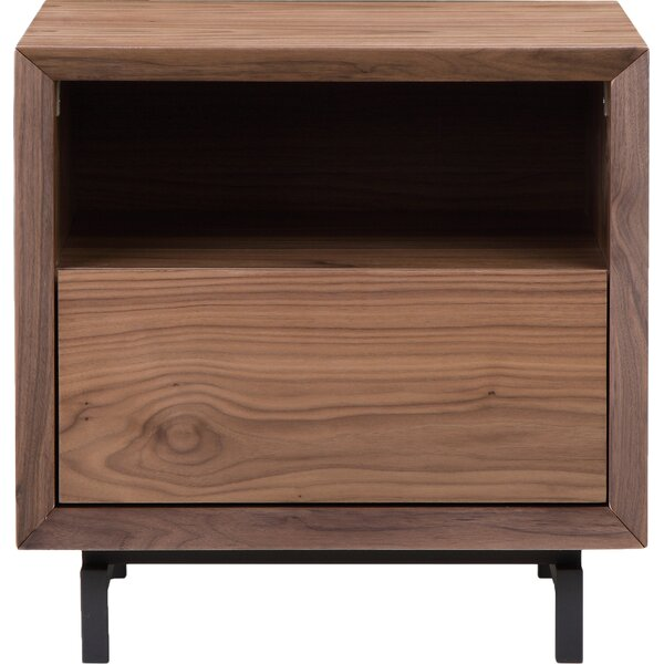 Reuben End Table with Storage by Foundry Select