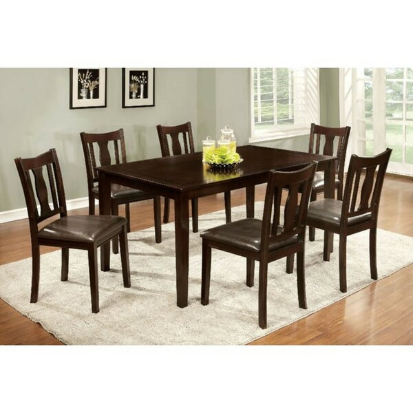 Morin Transitional 8 Piece Solid Wood Dining Set by Winston Porter