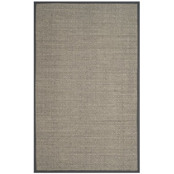 Freels Natural/Gray Area Rug by Wrought Studio