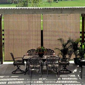 uv block outdoor single rolled shade