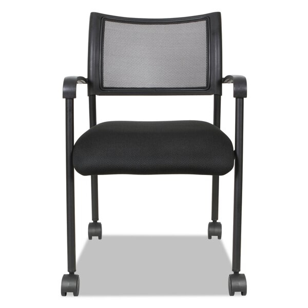 Eikon Series Stacking Mesh Guest Chair by Alera®