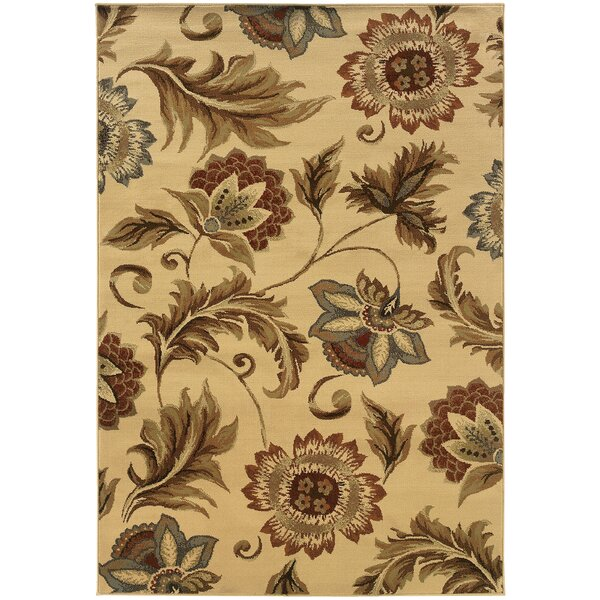 Harper Beige Area Rug by Threadbind