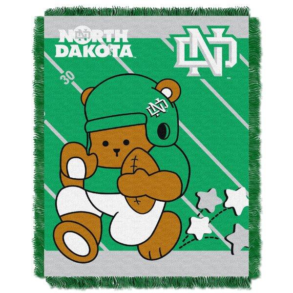 Collegiate North Dakota Baby Blanket by Northwest Co.