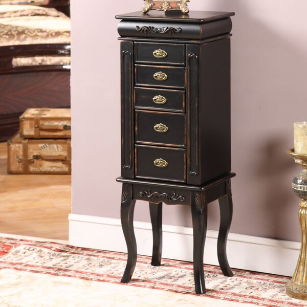 Morrel Jewelry Armoire with Mirror by Wildon Home Wildon Home®