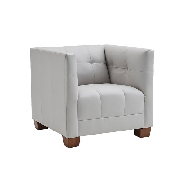 Kitano Emilia Leather Armchair by Lexington