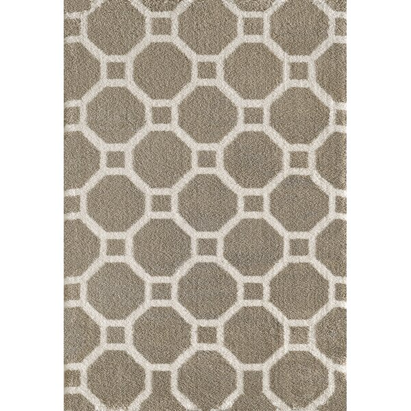 Lowes Beige Area Rug by Winston Porter