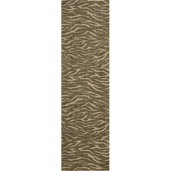 Dunnstown Handwoven Wool Cocoa Area Rug