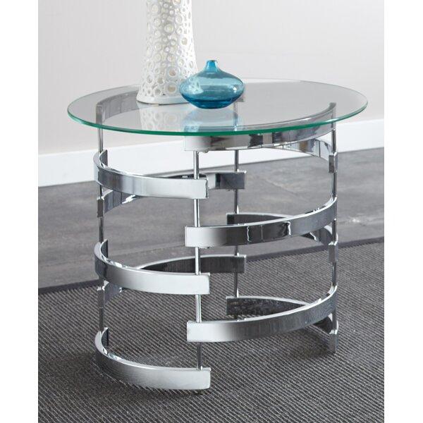 Telly End Table by Orren Ellis