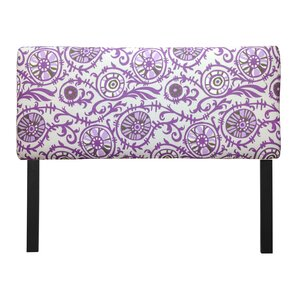 Ali Suzani Grapevine Upholstered Panel Headboard by Sole Designs