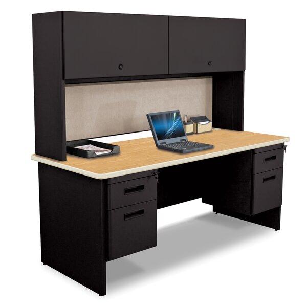 Crivello Credenza Desk with Hutch
